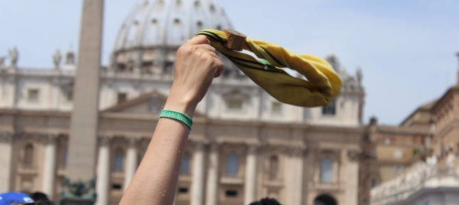 Udienza Generale AGESCI con Papa Francesco